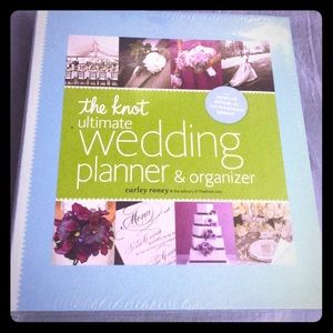 THE KNOT ULTIMATE WEDDING PLANNER NEW BEAUTIFUL